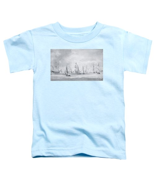 Shipping In The Thames Toddler T-Shirt