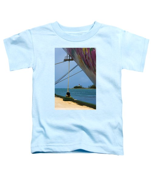 Ship's Ropes And Lighthouse Toddler T-Shirt