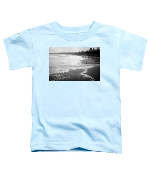 Winter At Wickaninnish Beach Toddler T-Shirt
