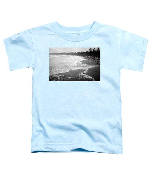 Winter At Wickaninnish Beach Toddler T-Shirt