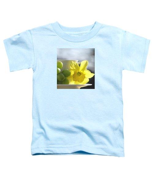 Sipping Spring Toddler T-Shirt