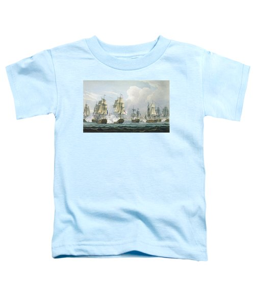Sir Richard Strachans Action After The Battle Of Trafalgar Toddler T-Shirt