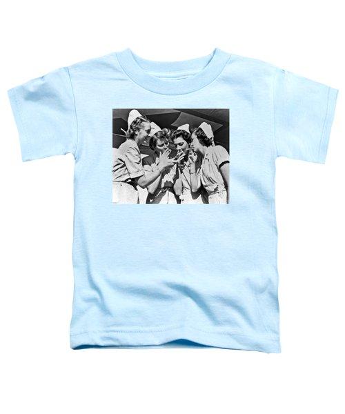 Smoking Army Nurses Toddler T-Shirt