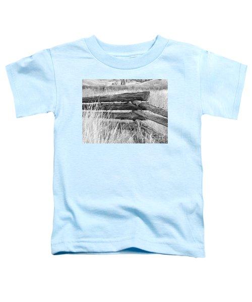 Snake Fence  Toddler T-Shirt