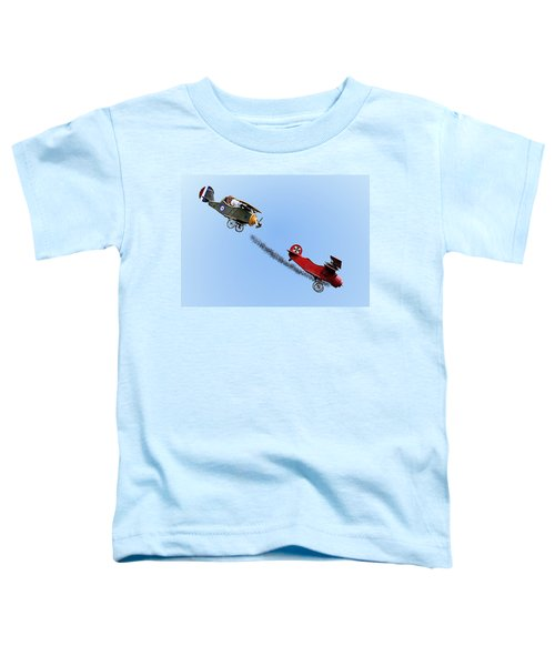 Snoopy And The Red Baron Toddler T-Shirt