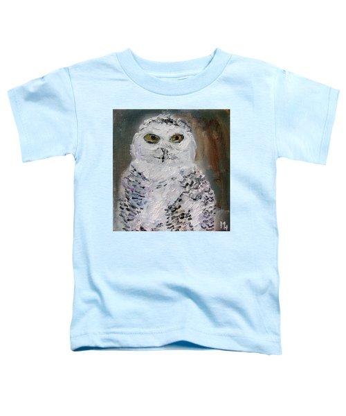 Snow Owl Toddler T-Shirt