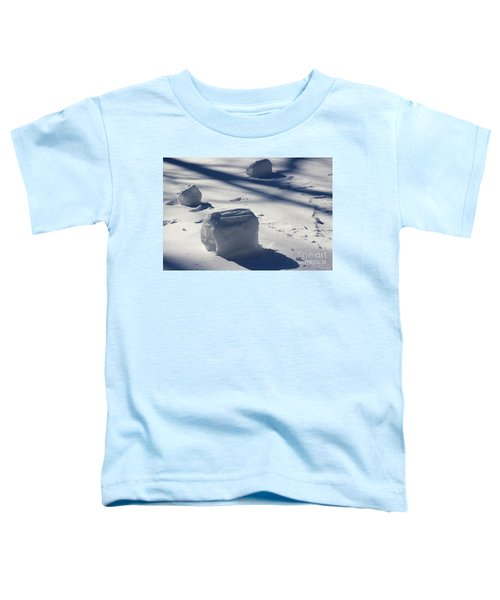 Snow Roller Trio In Shadows Toddler T-Shirt
