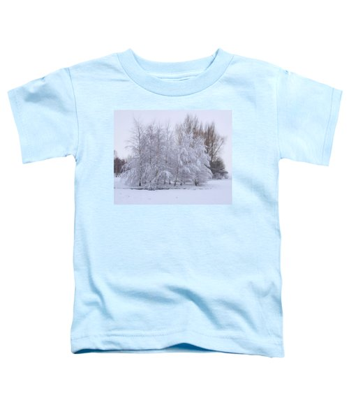 Snow Trees Toddler T-Shirt