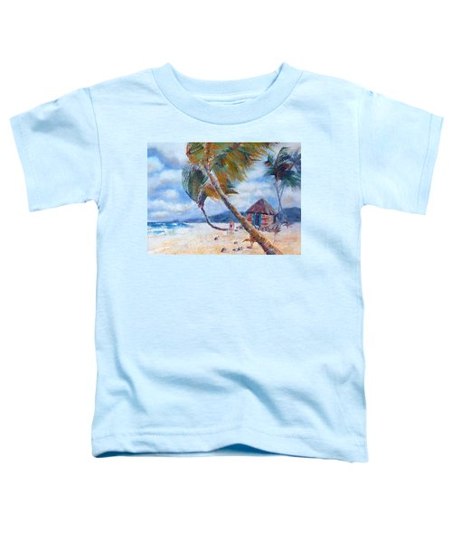 South Pacific Hut Toddler T-Shirt