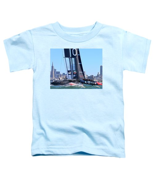Oracle America's Cup Winner Toddler T-Shirt