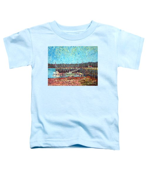 St Andrews Wharf Toddler T-Shirt