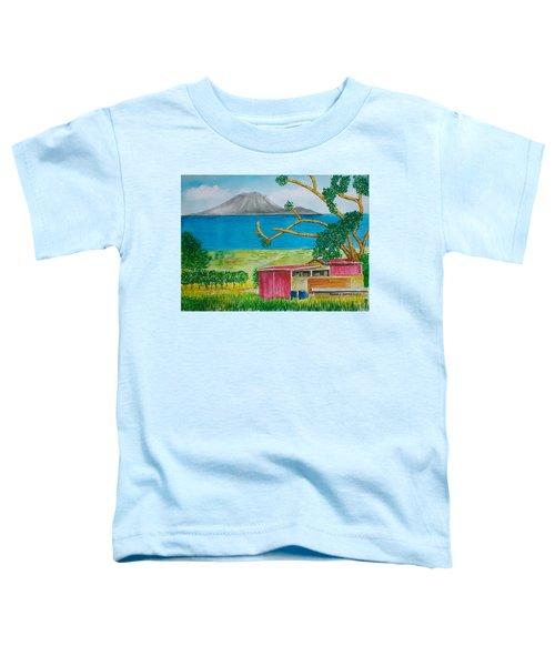 St. Eustatis From St. Kitts Toddler T-Shirt
