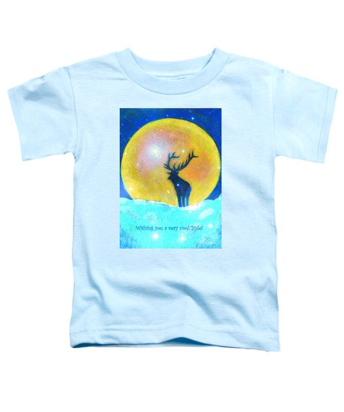 Stag Of Winter Toddler T-Shirt