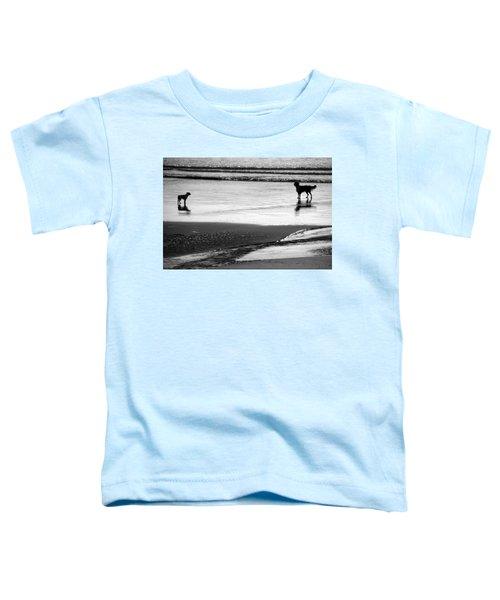 Standoff At The Beach Toddler T-Shirt