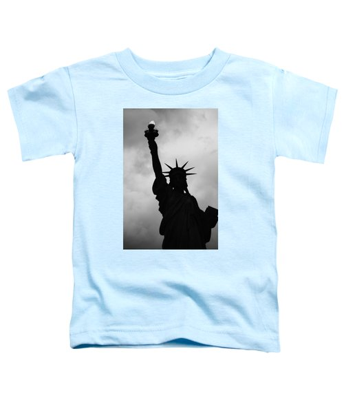 Statue Of Liberty Silhouette Toddler T-Shirt