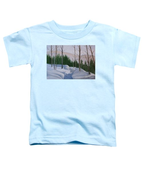 Stay On The Path Toddler T-Shirt