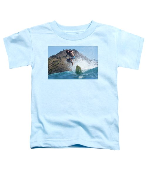 Sufer On The Wave Toddler T-Shirt