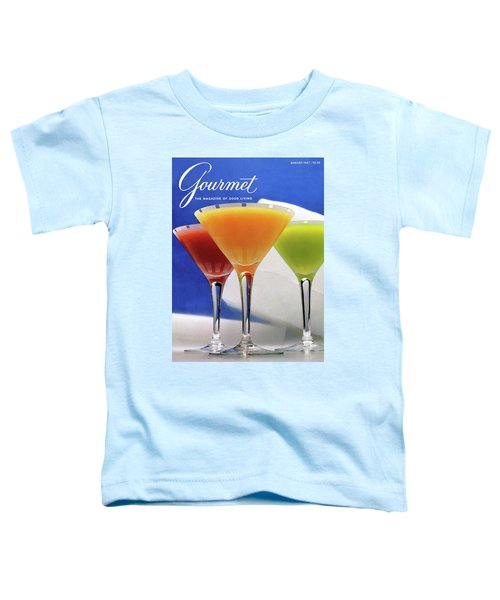 Summer Cocktails Toddler T-Shirt by Romulo Yanes