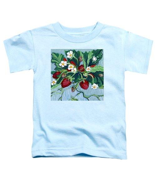 Summer Strawberries Toddler T-Shirt