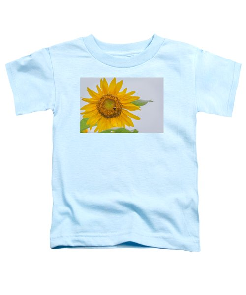 Sunflower And Bee Toddler T-Shirt