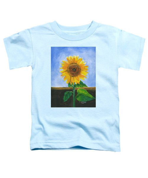 Sunflower Series Two Toddler T-Shirt
