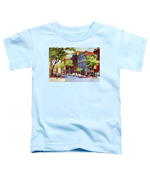 Sunny Day Cafe Toddler T-Shirt