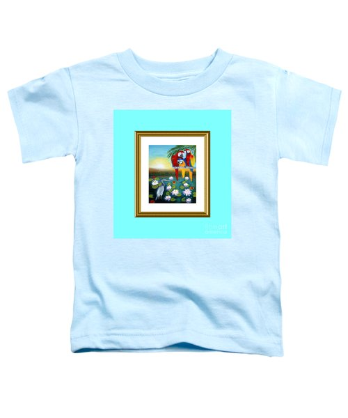 Sunrise In Paradise. Inspiration Collection Toddler T-Shirt