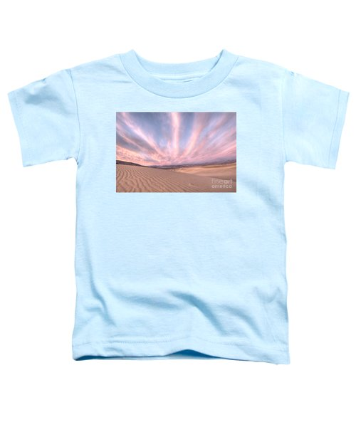 Sunrise Over Sand Dunes Toddler T-Shirt by Juli Scalzi