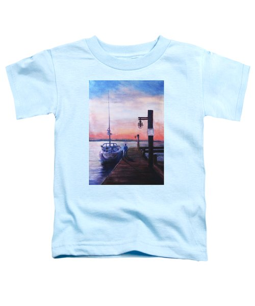 Sunset At Rocky Point Toddler T-Shirt