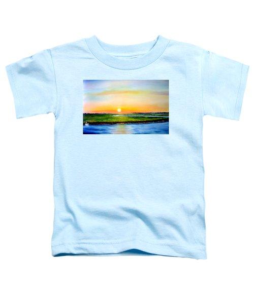 Sunset On The Marsh Toddler T-Shirt