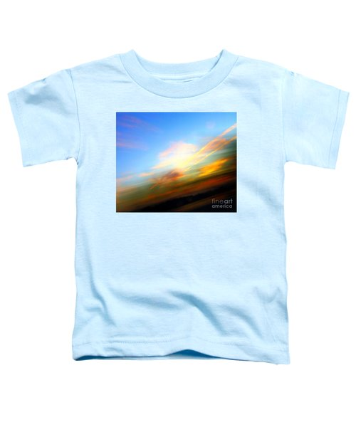 Sunset Reflections - Abstract Toddler T-Shirt