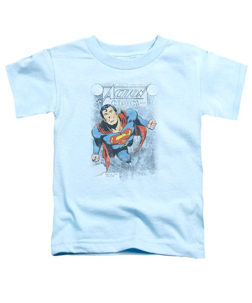 Superman - Action #419 Distress Toddler T-Shirt
