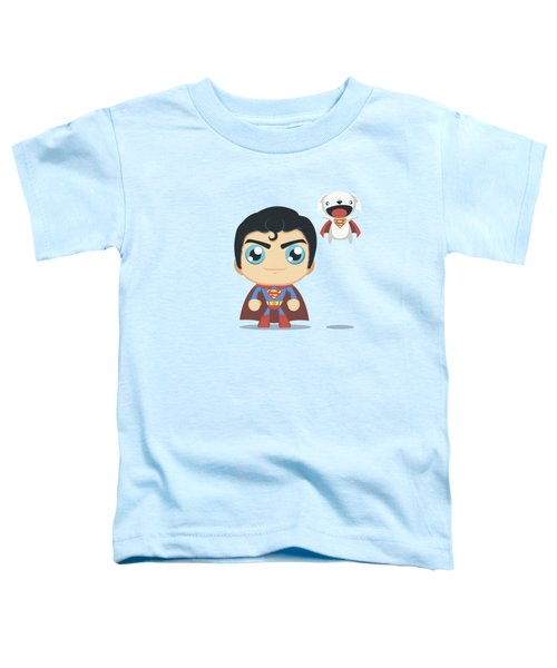 Superman - Cute Superman Toddler T-Shirt