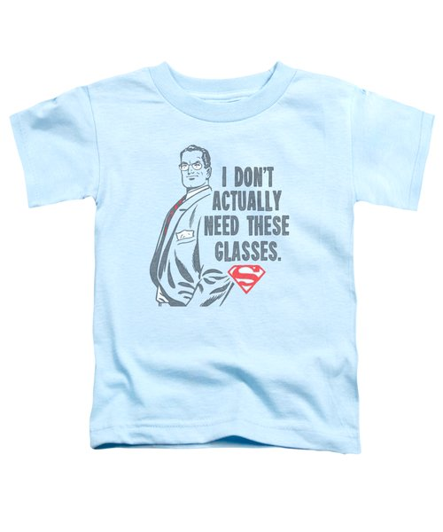 Superman - Don't Need Glasses Toddler T-Shirt