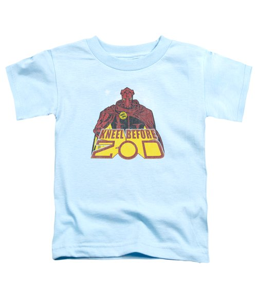Superman - Kneel Before Toddler T-Shirt