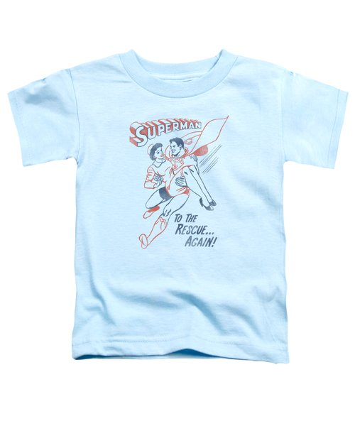 Superman - To The Rescue Toddler T-Shirt