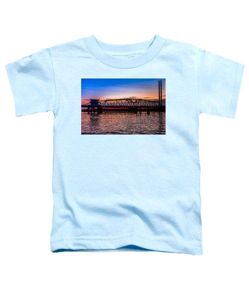 Surf City Swing Bridge Toddler T-Shirt