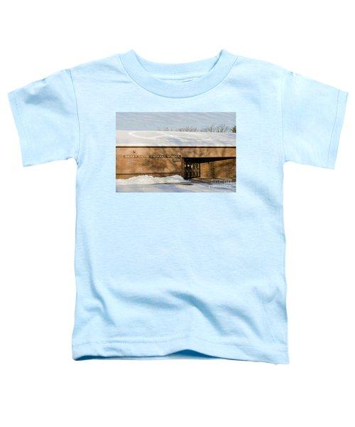 Teach Peace Toddler T-Shirt