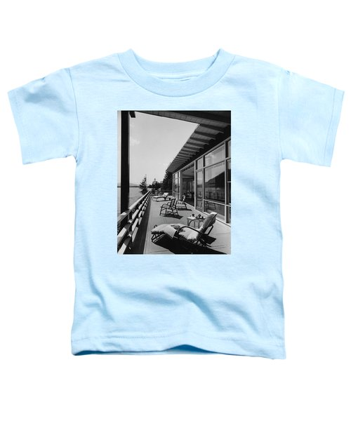 The Alfred Rose Lake Placid Summer Home Toddler T-Shirt
