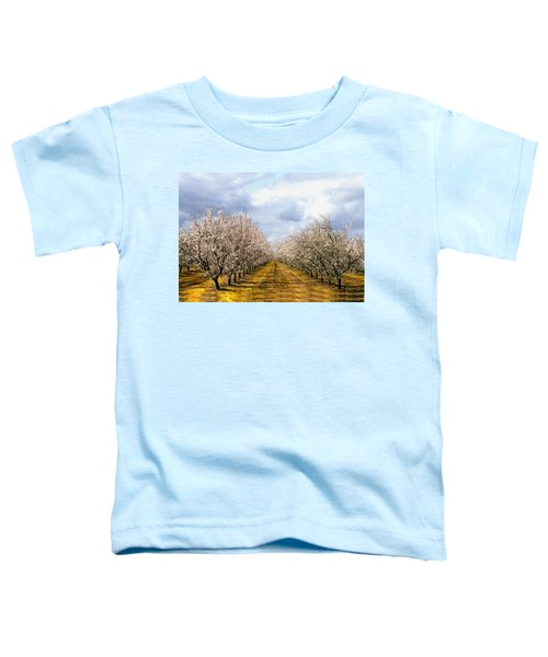 The Almond Orchard Toddler T-Shirt