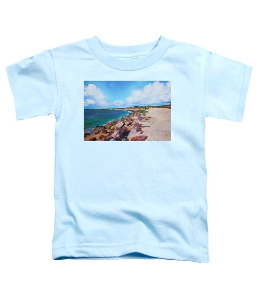 The Beach At Ponce Inlet Toddler T-Shirt