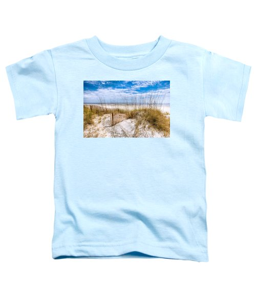 Toddler T-Shirt featuring the photograph The Dunes by Debra and Dave Vanderlaan