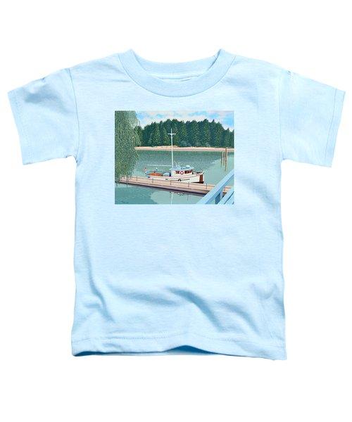 The Converted Fishing Trawler Gulvik Toddler T-Shirt