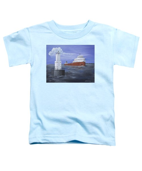 The Fitz Departs Escanaba Toddler T-Shirt
