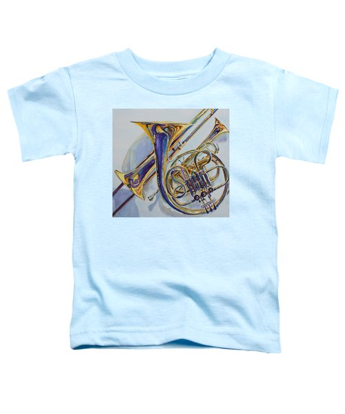 The Glow Of Brass Toddler T-Shirt
