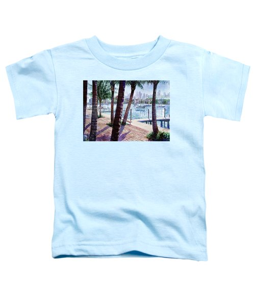 The Harbor Palms Toddler T-Shirt