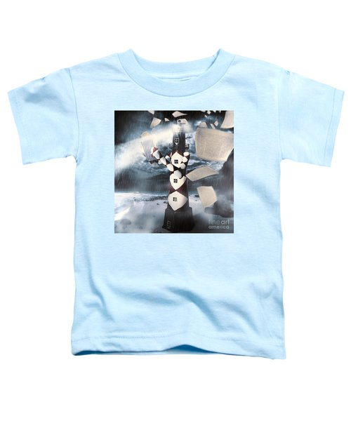 The Lighthouse And The Fishermans Tale Toddler T-Shirt