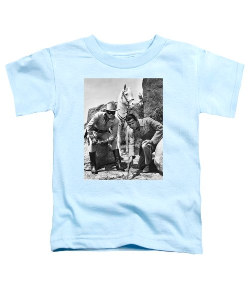 The Lone Ranger And Tonto Toddler T-Shirt