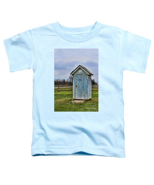 The Outhouse - 4 Toddler T-Shirt