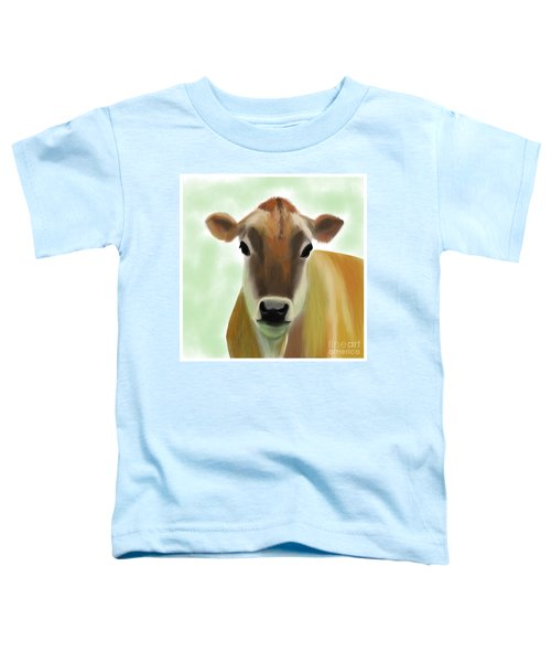 The Pretty Jersey Cow  Toddler T-Shirt